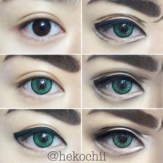 38 Best Anime Eye Makeup Images In 2019 Anime Eye Makeup Anime