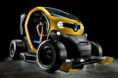 Renault Twizy F1 concept. Powered by an F1 KERS unit. Insane Genius!!!