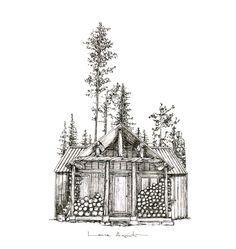 Agust, Big Ben, Drawings, Illustration, Inspiration, Impressionism, Paper Envelopes, Illustrations, Art