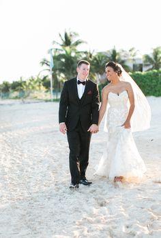 Tim & Gabriela's Intimate Seaside Wedding