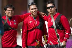 The Mexican team men's archery, composed of Juan René Serrano, Luis Eduardo Velez and Luis Alvarez kept the country on the edge of the seat at the Olympic Games.
