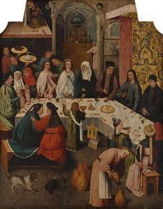 BoschTheMarriageFeastAtCanajpg - Cud w Kanie Galilejskiej – Wikipedia, wolna encyklopedia