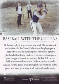 Baseball with the cullens (Béisbol con los Cullen) ♥ (02)