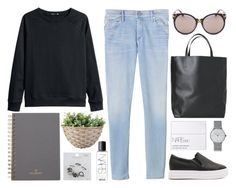 """""""If Not Tonight, Maybe Tomorrow (LL 2.29)"""" by cigerett ❤ liked on Polyvore featuring H&M, Retrò, Rebecca Taylor, Angela & Roi, NARS Cosmetics, Junghans, Mulberry, Topshop and lucluc"""