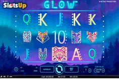 Win cool prizes enjoying Scandinavian landscapes in the Glow #freeslot! NetEnt released the hypnotizing 5-reel, 15-payline slot from all fans of Scandinavian-based games.
