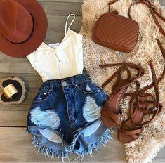 Fashion tips that are fun and stylish Hippie Outfits, Teen Fashion Outfits, Short Outfits, Stylish Outfits, Fall Outfits, Summer Outfits, Cute Outfits, Womens Fashion, Tumblr Fashion