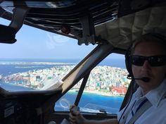 500 feet abeam the capital #Malé #Maldives in the #DHC6 #TwinOtter #Seaplane joining a right downwind to land South Right at #VRMM lagoon.  #AviaTube #Aviation #Flying #Aircraft #Airplane #Airport #Flight #Avgeek #Travel #Planespotting #Pilot #Instagramaviation #Lifewelltravelled #BarefootPilots #Aviator #Instapassport #Crewlife #Expat