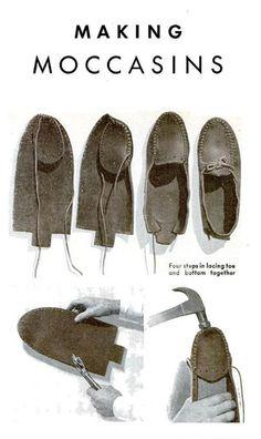 make moccasins