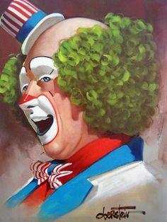 I just love clowns!!!!