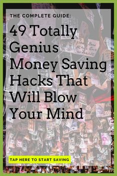 49 Easy Ways To Save Money: The Ultimate List For Cutting Back Ways To Save Money, Money Tips, Money Saving Tips, How To Make Money, Money Hacks, Financial Tips, Financial Peace, Financial Planning, Budget Planer