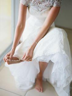 Bridal sandals for t