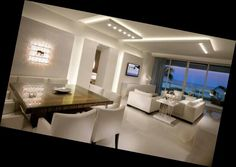 Soffitto, divisione dining-living
