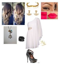 """""""Untitled #99"""" by batgirl-natasja on Polyvore featuring AX Paris, Jennifer Behr, HADES and Chico's"""