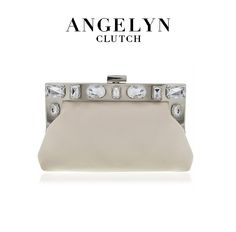In champagne duchess satin fabric and adorned with gemstones, the Angelyn is where we'll be storing our phones and lipgloss this party season. Holiday Shoes, Nina Shoes, Party Shoes, Holiday Fashion, Satin Fabric, Statement Earrings, Fashion Shoes, Phones, Champagne
