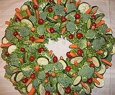 Great party appetizer with a decorative flair