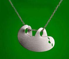Metal Sloth Necklace
