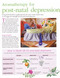 Mind, Body, Spirit Collection - Aromatherapy For Post-Natal Depression Young Living Oils, Young Living Essential Oils, Healing Herbs, Natural Healing, Natural Health Remedies, Herbal Remedies, Mind Body Spirit, Essential Oil Uses, Aromatherapy Oils