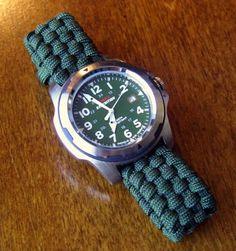 Stormdrane's Blog: Adjustable Paracord Watchband...
