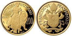 200 euro oro proof Vaticano 2017
