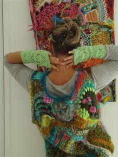crochet tricot--love the board