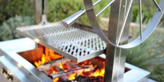 Argentinian-style wood-fired grill by Kalamazoo Outdoor Gourmet