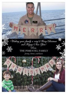 Christmas card for deployment #deployment #christmas #military
