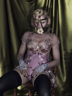 An Epic Madonna By Mert & Marcus For Interview Magazine December 2014/January2015 - 3 Sensual Fashion Editorials | Art Exhibits - Women's Fashion & Lifestyle News From Anne of Carversville