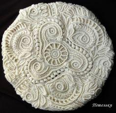 ФРИФОРМ: МАСТЕР-КЛАССЫ Form Crochet, Knit Crochet, Crochet Patterns, Crochet Ideas, Crochet Embellishments, Irish Crochet, Cashmere Sweaters, Knitting, Romanian Lace