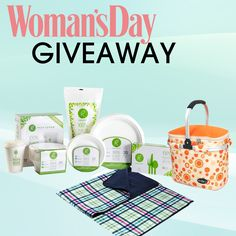 Are you ready to #win? We've teamed up with Woman's Day Magazine to give away a set of #Repurpose eco-friendly tableware, plus a picnic basket and blanket! Enter here http://womansday.hearstmobile.com/sweepstakes/31560.