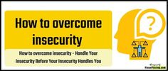 How to overcome insecurity - Handle Your Fear Of Losing Someone, Losing People, Do You Feel, How Are You Feeling, Low Self Confidence, Happy To Meet You, Dressing Sense, Lose Something, Feeling Insecure