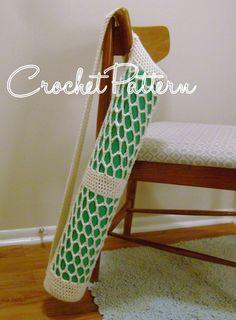 Yoga Mat Bag pattern crochet PATTERN ONLY von hooraycrochet