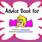 This is a Mother's Day Book you can give your students. It is a book of advice to moms from their child.  I love to listen to how children think th...