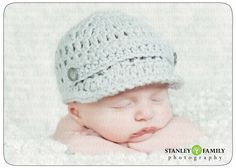 Sale pick your color Crochet Baby Newsboy Hat by deeriehandmade, $12.00