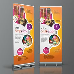Roller Banners designed and supplied for Snapajack Personalised Gifts. Roller Banners, Personalised Gifts, Banner Design, Printers, Layout, Graphic Design, Wallpaper, How To Make, Personalized Gifts