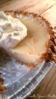 This Amish Sugar Cream Pie is almost literally just sugar and cream but it bakes into a caramelized, luxurious dessert.