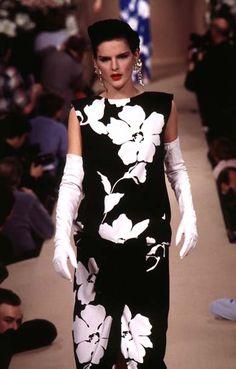 Abito da sera di Yves Saint Laurent Haute Couture 1996