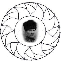 1544 En Iyi Atatürk Görüntüsü 2019 Watercolor Painting Draw Ve Art