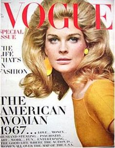 Vintage Vogue magazine covers - mylusciouslife.com - Vintage Vogue May 1967 - Candice Bergen.jpg