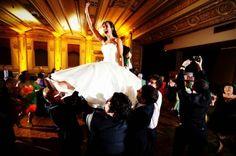 Dancing the Hora!