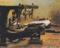 Van Gogh - Weber am Webstuhl , 1884