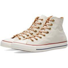 Converse 144743°C High Top Khaki Chucks Hi Rubber Streetwear Unisex Sneakers Casual Shoes