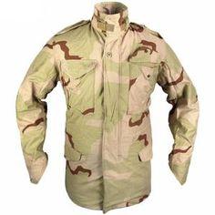 US Genuine Issue Desert Camouflage Jacket M65 Jacket, Camo Jacket, Field Jacket, Motorcycle Jacket, Police Jacket, Tactical Jacket, Coat Sale, Military Surplus, Lightweight Jacket