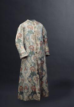Robe de chambre d'homme vers 1755