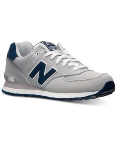 huge discount df1b3 d2fa9 New Balance Men s 574 Casual Sneakers from Finish Line   Reviews - Finish  Line Athletic Shoes - Men - Macy s
