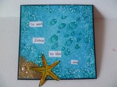 Sea bubbles and water droplets stamp by Ryn