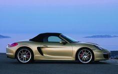 The new Porsche Boxster