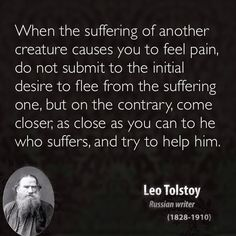 Leo Tolstoy quotes animal rights bearing witness vegetarian vegan