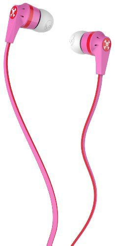Music Headphones - Pin it :-) Follow us, CLICK IMAGE TWICE for Pricing and Info . SEE A LARGER SELECTION of music headphones at http://azgiftideas.com/product-category/music-headphones/  - gift ideas -    Skullcandy S2IKFZ-052 Ink'd 2.0 Earbud Headphones (Paul Frank Pink)