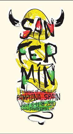 San Fermin - Running of the Bulls - Pamplona - 2010