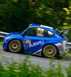 WRC Subaru Impreza Mini Car